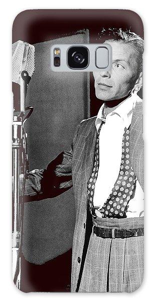 Frank Sinatra William Gottlieb Photo Liederkranz Hall New York City 1947-2015 Galaxy Case by David Lee Guss