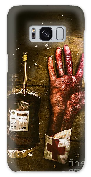 Zombies Galaxy Case - Frankenstein Transplant Experiment by Jorgo Photography - Wall Art Gallery