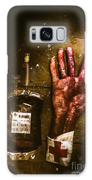 Physical Galaxy Case - Frankenstein Transplant Experiment by Jorgo Photography - Wall Art Gallery