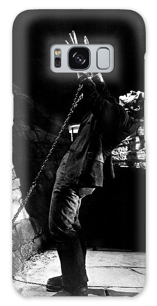 Frankensteins Monster Chained The Castle Played By Boris Karloff Galaxy Case
