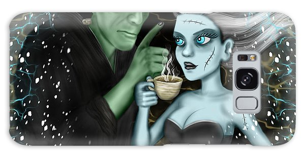 Frankenstien Fantasy Art Galaxy Case