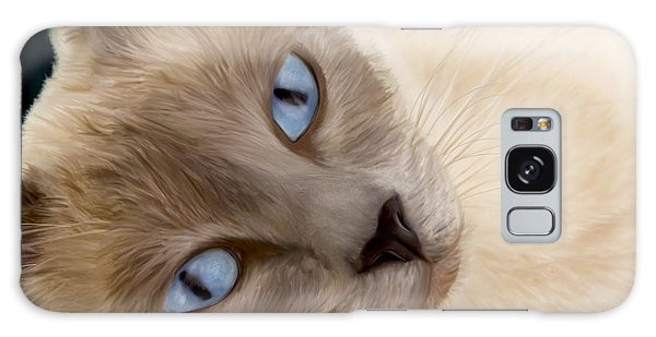 Frankie Blue Eyes Galaxy Case