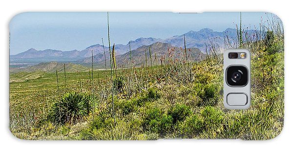Franklin Mountains State Park Facing North Galaxy Case by Allen Sheffield