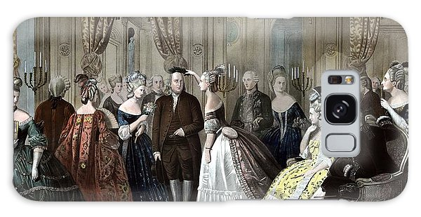 Marie Galaxy Case - Franklin's Reception At The Court Of France by War Is Hell Store