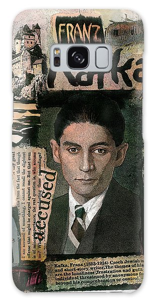 Galaxy Case featuring the painting Franz Kafka by John Dyess