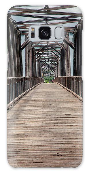 Fraser River Footbridge Galaxy Case