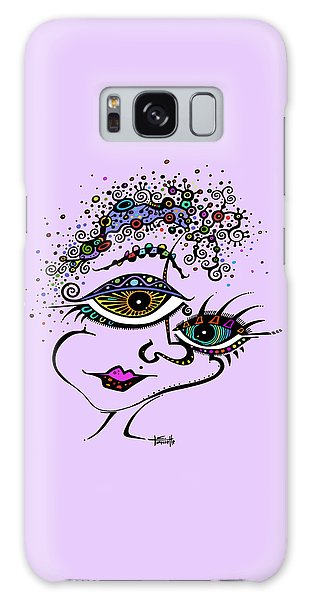Frazzled Galaxy Case by Tanielle Childers