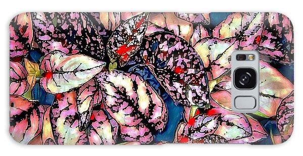 Galaxy Case featuring the digital art Freckle Face by Pennie  McCracken