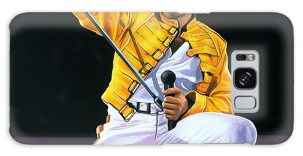 Made Galaxy Case - Freddie Mercury Live by Paul Meijering