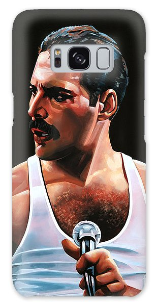 Made Galaxy Case - Freddie Mercury by Paul Meijering