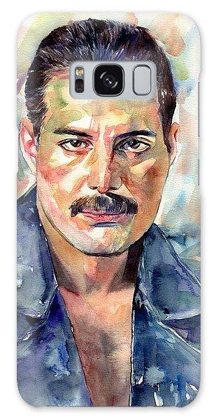 Mercury Galaxy Case - Freddie Mercury Portrait by Suzann Sines