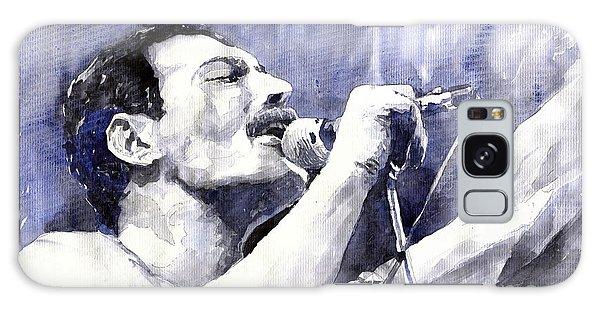 Portret Galaxy Case - Freddie Mercury by Yuriy Shevchuk