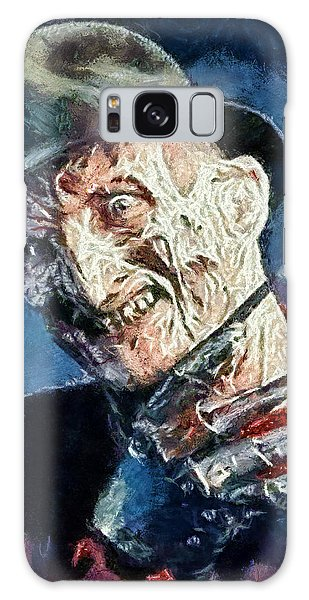 Freddy Kruegar Galaxy Case by Joe Misrasi