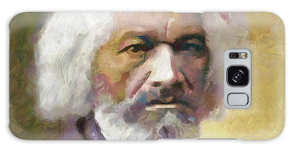Frederick Douglass Galaxy Case by Wayne Pascall