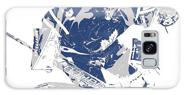 Frederik Andersen Toronto Maple Leafs Pixel Art 5 Galaxy Case