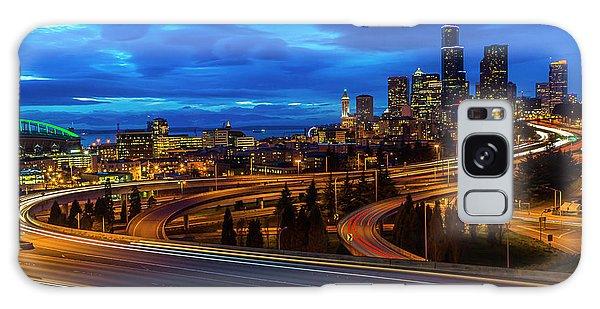 Freeway 5 North To Seattle Galaxy Case