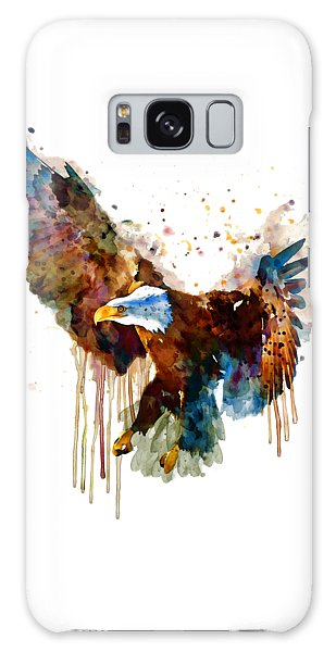 Free And Deadly Eagle Galaxy Case by Marian Voicu