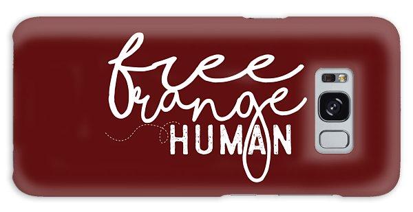 Free Range Human Galaxy Case