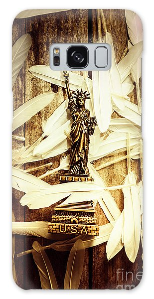 National Monument Galaxy Case - Freedom And Independence by Jorgo Photography - Wall Art Gallery