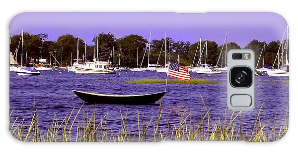 Freedom Bristol Harbor Rhode Island Galaxy Case by Tom Prendergast