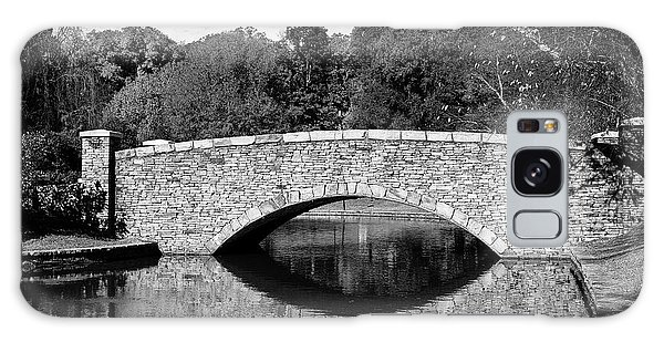 Freedom Park Bridge In Black And White Galaxy Case