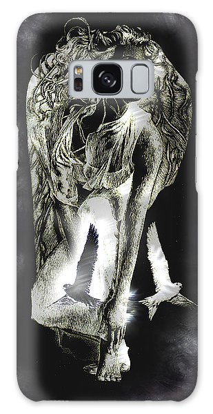 Galaxy Case featuring the painting Freedom by Ragen Mendenhall
