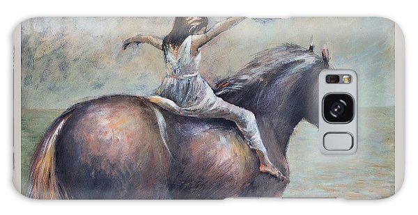 Freedom Galaxy Case by Vali Irina Ciobanu