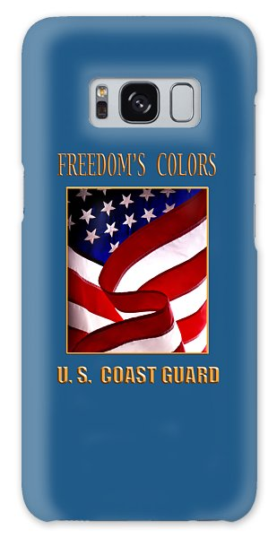 Freedom's Colors Uscg Galaxy Case