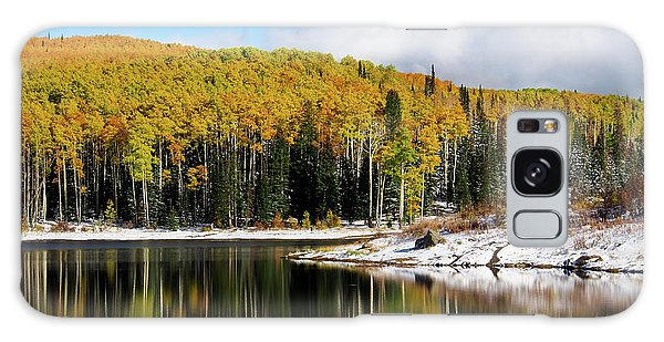 Freeman Lake In Northwest Colorado In The Fall Galaxy Case