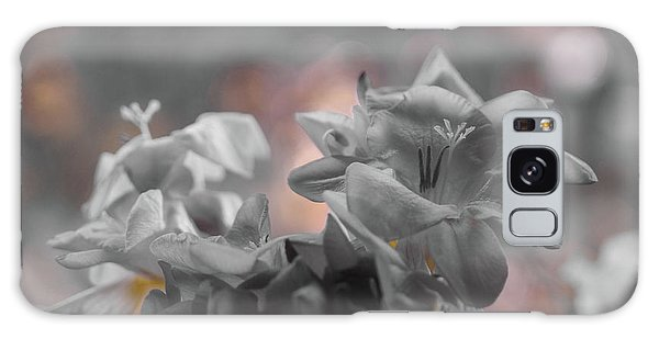 Freesia'a Without Colour Galaxy Case