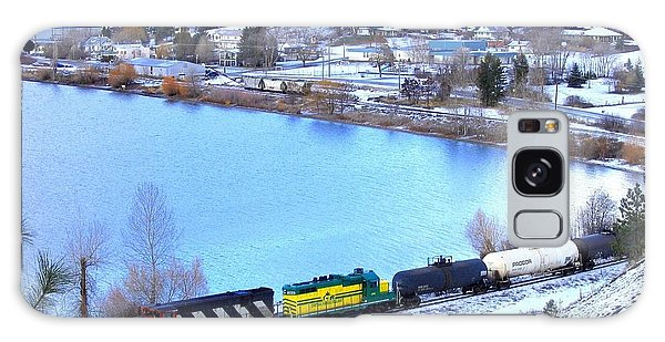 Oyama Galaxy Case - Freight Train At Oyama by Will Borden