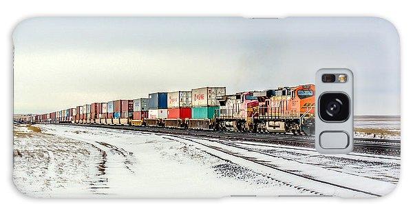 Train Galaxy S8 Case - Freight Train by Todd Klassy