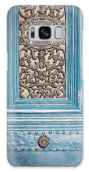 French Blue - Paris Door Galaxy Case