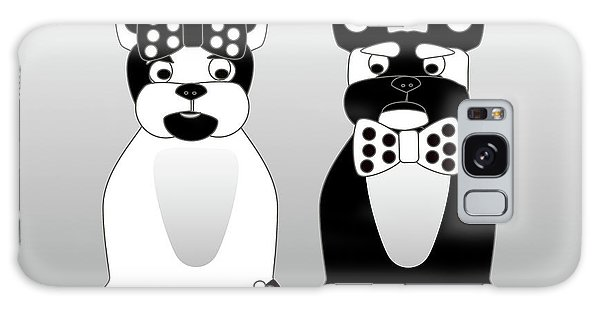 French Bulldog Date Night  Galaxy Case