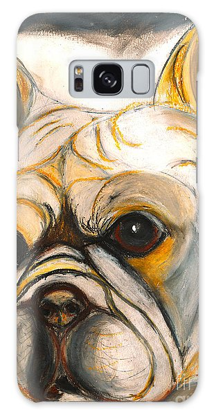French Bulldog Drawing Galaxy Case