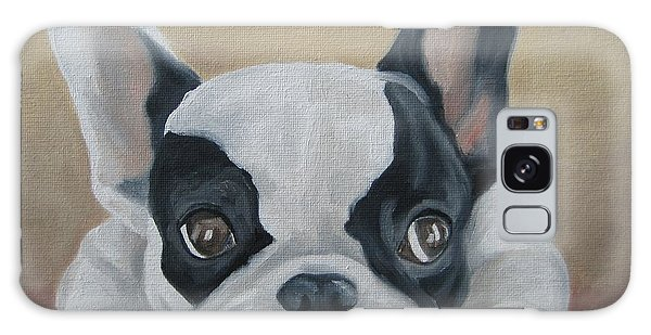 French Bulldog Galaxy Case by Jindra Noewi
