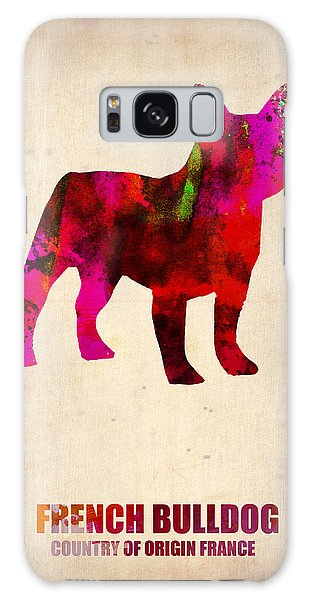 French Galaxy Case - French Bulldog Poster by Naxart Studio