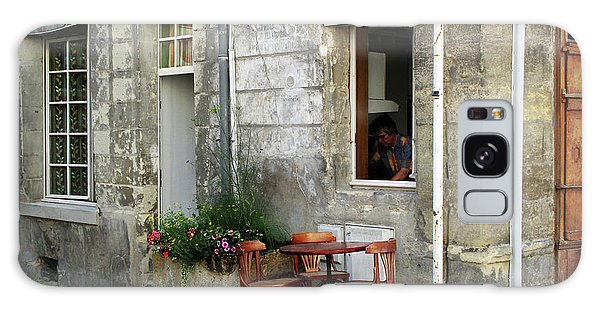 French Countryside Corner Galaxy Case by Joan  Minchak