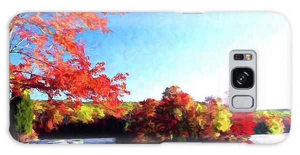 French Creek Fall 020 Galaxy Case by Scott McAllister