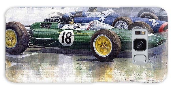 Sport Car Galaxy Case - French Gp 1963 Start Lotus Vs Brm by Yuriy Shevchuk