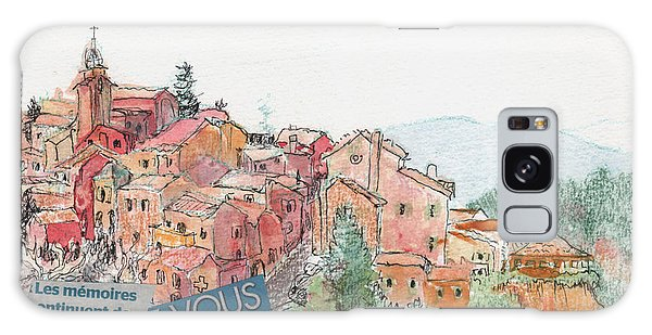 French Hill Top Village Galaxy Case