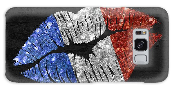 Patriotic Galaxy Case - French Kiss by Mindy Sommers