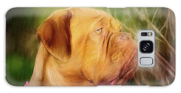 French Mastiff  Galaxy Case