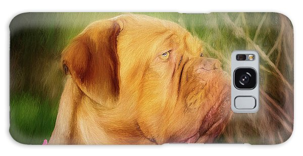French Mastiff  Galaxy Case