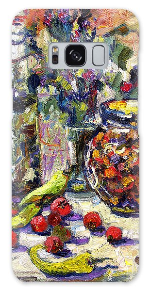 French Provence Cooking Still Life Galaxy Case