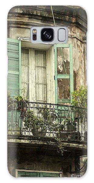 French Quarter Balcony Galaxy Case