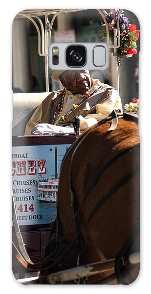 French Quarter Carriage Galaxy Case