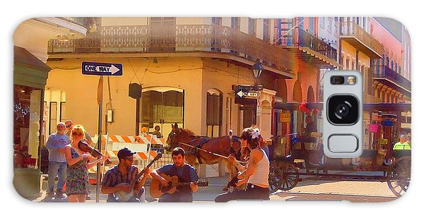 French Quarter Day Galaxy Case by Kathy Bassett