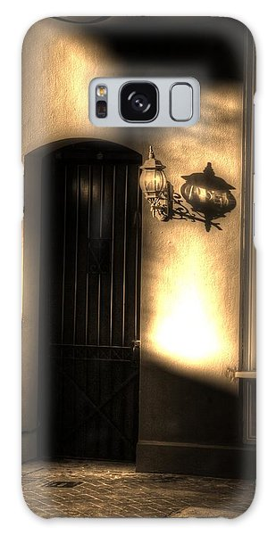 French Quarter Door Galaxy Case
