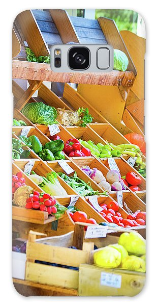 French Vegetable Market 2 Galaxy Case